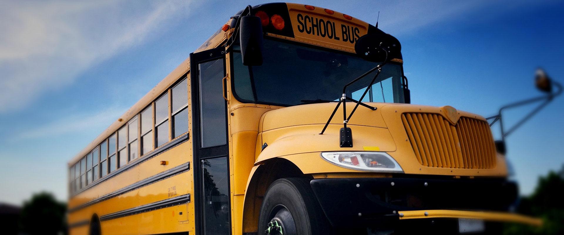 post-school-bus